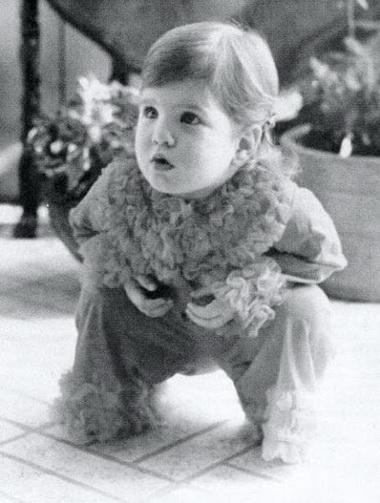 Дженифер Энистон в детстве
