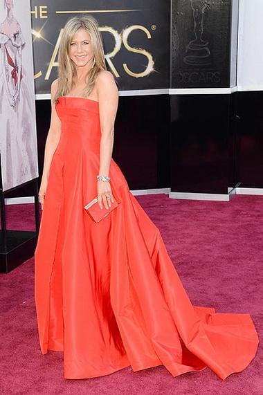 Дженифер Энистон на Оскаре 2013
